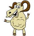 ram farm animal cartoon character