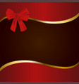 red brown and gold cover vector image