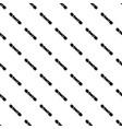 snowboard icon simple black style vector image vector image