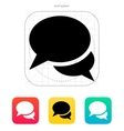 Talk bubble icon vector image