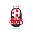 football Badge 2 vector image