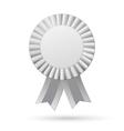 Ribbons award isolated on white background vector image