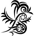 Bird tatoo vector image vector image