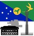 Christmas Island vector image vector image