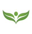 Health Logo Template vector image vector image