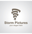 storm pictures vector image vector image