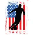 sportsman vector image