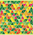 abstract triangle background multicolor pattern vector image vector image