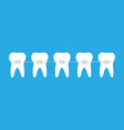 braces with tooth icon symbol vector image
