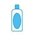 container bottle isolated vector image vector image