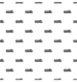 Dump truck pattern simple style vector image