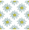 edelweiss flower icon alpine logo pattern vector image vector image