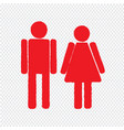man and lady people icon design vector image