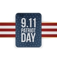 Patriot Day festive paper Banner vector image