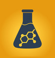 chemistry logo vector image vector image