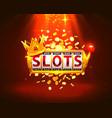 king slots 777 banner casino vector image vector image