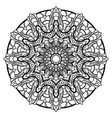 mandalas for coloring book decorative round vector image vector image