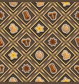 spice seamless pattern vector image vector image