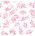 tropical seamless floral pattern background vector image vector image