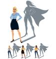 Woman Superhero Concept vector image vector image