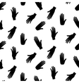 Hands hipster seamless pattern vector image