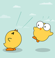 Yellow Chicks vector image
