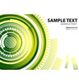 a4 template technology abstract theme vector image vector image