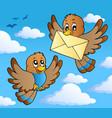 bird theme image 2 vector image vector image