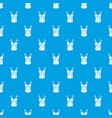 brassiere top pattern seamless blue vector image vector image