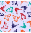 butterfly pattern eps10 vector image