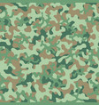 camouflage pattern seamless background vector image
