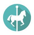 Carousel icon vector image