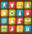 Christmas and New Year Traditional Objects vector image