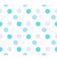 colored circle seamless pattern vector image vector image
