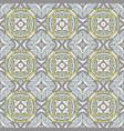 cute geometric pattern seamless vintage tiles vector image vector image