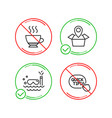 espresso scuba diving and package location icons vector image vector image