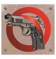 Handgun Beretta Elite Stop vector image vector image