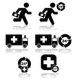 Health emergency vector image vector image