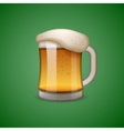 Mug of beer icon emoticon emoji vector image vector image