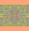 psychedelic trippy fantastic pattern design vector image vector image