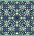 damask mosaic seamless tiles design vector image vector image