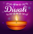 diwali concept background cartoon style vector image