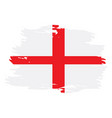 isolated english flag vector image vector image