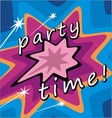 party invitations vector image vector image