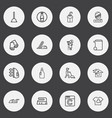 Set of 16 editable hygiene outline icons includes
