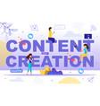 starting popular vlog channel flat concept vector image vector image