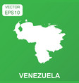 venezuela map icon business concept venezuela vector image vector image