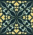 vintage seamless pattern floral vector image vector image