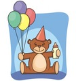 1st bearthday vector image