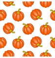 Autumn halloween seamless pattern vector image vector image